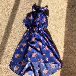 Lily Bleu high low girls dress